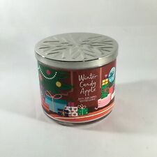 Bath and Body Works Winter Candy Apple 14.5 oz. 3 Wick Candle