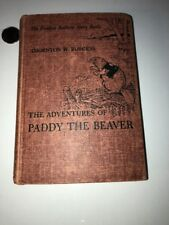 "1945 Thornton Burgess ""The Adventures Of PADDY THE BEAVER"" illus..By H. Cady"