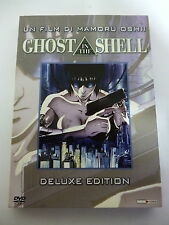 "GHOST IN THE SHELL "" deluxe edition "" di MAMORU OSHII - DVD 82m ca. PANINI VIDEO"
