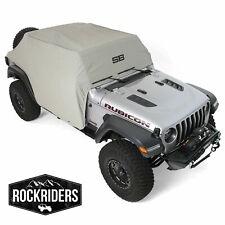 Smittybilt 1071 Water-Resistant Cab Cover w/ Door Flaps 2018-2020 Jeep Wrangler