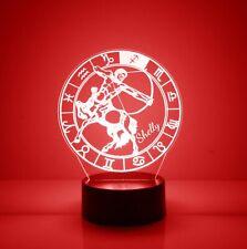 Sagittarius, Zodiac Signs Night Light 16 Color Change LED Desk Lamp Home Decor
