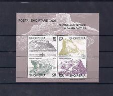 Albania Albanien Albanie 2003 Castles 2703 MNH