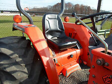 NEW HIGH BACK SEAT FOR KUBOTA COMPACT TRACTORS B7410, B7510, B7610 #IR