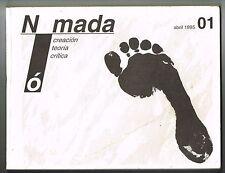 Nomada Revista Literaria Creacion Teoria Critica Abril 1995 Num 1 Puerto Rico