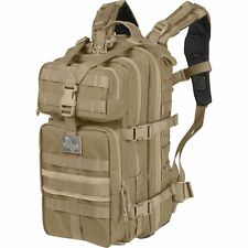 Brown Outdoor Falcon-II Tactical Backpack, Mens Molle Military Camp Hunt Day Bag