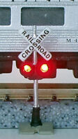 Lighted Bachmann N Scale Crossing Signals & NEW - Flashing Circuit Board