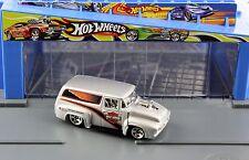 Hot Wheels Silver 1956 56 Ford Panel Truck F-100 Harley Davidson Motor Cycles