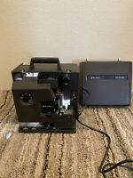 Bell & Howell 16MM Sound Film Projector 2585 B & Case