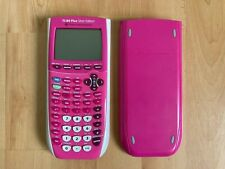 Texas Instruments TI-84 Plus Silver Edition Graphing Calculator *PINK*