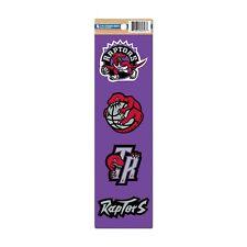 Toronto Raptors Hardwood Classic Retro Logo Basketball Collectors 4 Pc Stickers
