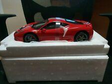Hot Wheels Elite Ferrari  458 special 1/18 BRAND NEW
