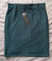 Only Women's Carrie Tube Bodycon Gliter Skirt Size S Small New With Tags