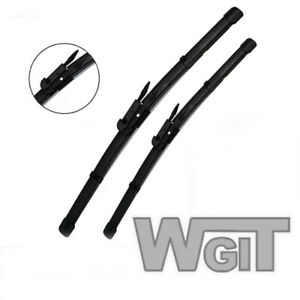 Wiper Blades Aero For BMW 4 Series COUPE 2013-2017 FRT PAIR 2xBLS