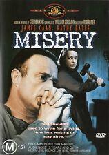 MISERY (James CAAN Kathy BATES) THRILLER Stephen KING Film DVD NEW SEALED Reg 4