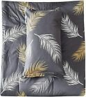 New+2+PeachLeaf+Peach+Leaf+%22Copper+Feather%22+Queen+Cotton+PILLOWCASES+ONLY+20x30