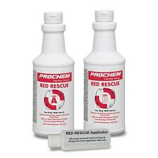 PROCHEM RED RESCUE -  E410 2 pint size A + B  -  Red Food/Beverage stain remover