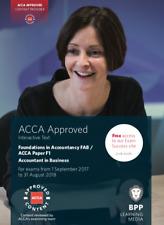 ACCA BPP Study Text F1, F4, F5, F6, F7, F8, F9, P3, P4, P6, P7 (2017-2018)