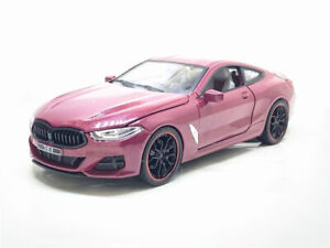 1:24 SCALE BMW M8 DIECAST CAR MODEL Sound Light Pull Back Door Open Collection