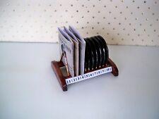 1:12-10 miniatura DeutscheGrammophon Gommalacca Dischi PIASTRE SUPPORTO pezzo unico