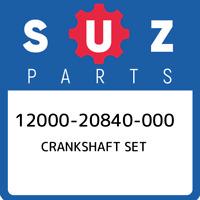 12000-20840-000 Suzuki Crankshaft set 1200020840000, New Genuine OEM Part