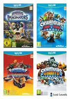 Wii U - Skylanders Trap/Superchargers/Imaginators-Choose Your Game Multi-Listing