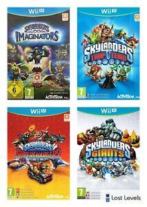 Wii U - Skylanders Trap/Superchargers/Imaginators-Choose Your Game Multi-Listing