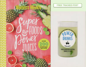 Women's Weekly - SUPER FOODS & POWER JUIICES- HC + POWER DRINKS - NEW COND