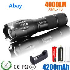 LED Rechargeable Flashlight Abay