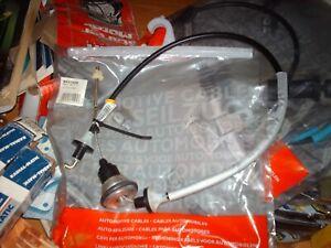 QH Clutch cable for Vauxhall Calibra 2.5i 24V V6 Cavalier 1993 - 1998