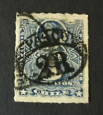 CHILE Peru Pacific War PASCO town cancel on Columbus; probably NOT genuine