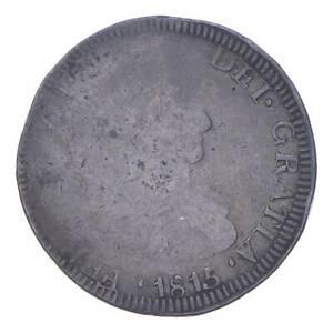 Pirate Treasure 1815 Spanish Colonial 8 Reales *743