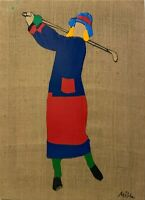 MARCO LODOLA - Opera unica su tela - cm 80 x 60 - anni '2000 - Pop Art