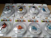 Disney Pixar Exclusive 3 Inch Mini Figure Wall-E /  EVE / MR Incredible  /  Nemo