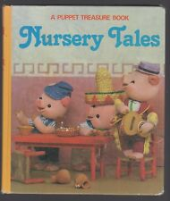 A Puppet Treasure Book NURSERY TALES T. Izawa photos of puppets hc 1977 HIJIKATA