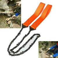 Portable Rope Chain Saw Outdoor Travel Emergency Hand Saw Garden Chain Tool C6G0