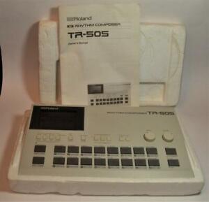 Roland TR-505 Rhythmus Composer Midi-Enabled Drum Maschine W Manuell Groß Arbeit