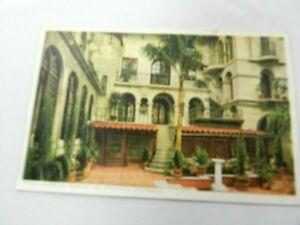 Vintage Postcard Glenwood Mission Inn St. Catherine's Well Riverside CA