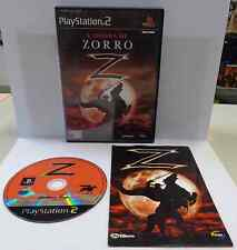 Console Game Gioco SONY Playstation 2 PS2 Play PAL ITALIANO - L'OMBRA DI ZORRO Z