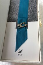 """Swarovski Pin """"Scs"""" For Members Only Collector'S Society .Mib"""