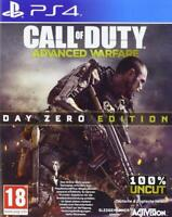 Call of Duty: Advanced Warfare PS4 Day Zero Ed - MINT - Super FAST DELIVERY FREE
