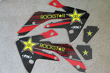 FX  TEAM ROCKSTAR  HONDA  GRAPHICS  HONDA CRF150R CRF150RB  LIQUID COOLED