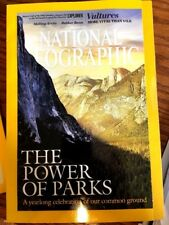 NATIONAL GEOGRAPHIC (January 2016) - Power of parks, Vultures, State Parks