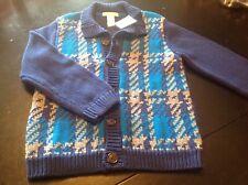 Janie and Jack Boys Size 6 Sweater NWT Cotton