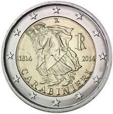 Italien 2 Euro 2014 prägefrisch 200 Jahre Carabinieri Gedenkmünze