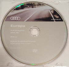 2017 Audi MMI 2 G Haut Sat Nav Map Update DVD UK & EUROPE