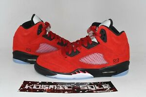 Nike Air Jordan 5 Retro Raging Bulls Red Style # 440888-600 Size 7Y