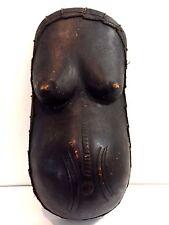 Vintage MAKONDE Pregnant Belly Mask African Art Wood