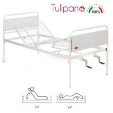 Letto Tulipano Moretti - Letto Per Disabili manuale A 3 Snodi E 2 Manovelle