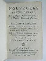 Retz Nuovo Informativa Bibliografiche Storici Medicina 1787