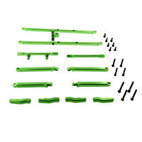 Traxxas X-Maxx Alloy Chassis Top Brace, Green by Atomik RC - TRX 7714X